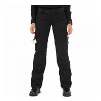 5.11 Tactical WoMen's Taclite EMS Pants - Black - 12 Long