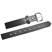 Boston Leather - 6580 Dress Belt W/ Stitched Edge