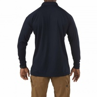 5.11 Tactical Performance Long Sleeve Polo - Dark Navy - Extra Small