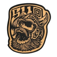 5.11 Tactical Viking Patch - Brown Leather
