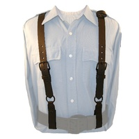 Boston Leather - POLICEMAN LEATHER SUSPENDERS B