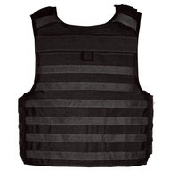 BlackHawk S.T.R.I.K.E. Non-Cutaway Tactical Armor Carrier - COTS - Black - Large - with Cut-away Cordura Lining