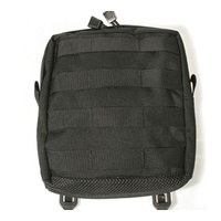 BlackHawk Large Utility Pouch w/ Zipper - Molle - Black