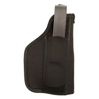 BlackHawk Nylon Laser Holster - Black - 3-4in Barrel Medium Autos with Most Under-Barrel Laser