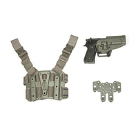 BlackHawk STRIKE Combo Kit Serpa Combo Kit - Medium Torso - Foliage Green