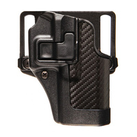 BlackHawk SERPA CQC Concealment Holster Carbon Fiber Finish - Glock 19 - Left