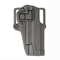 BlackHawk SERPA CQC Concealment Holster Matte Finish - Black - Taurus Judge 3in Cylinder - Right