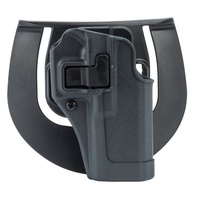 BlackHawk SERPA Sporster Holster - Plain Black Finish - Gunmetal Gray Body - Sig P220/P225/P226/P228/P229 w,w/o std rails - Left