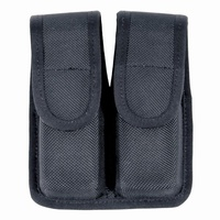 Blackhawk Double Mag pouch (Single Row) - Black, Molded Nylon, Plain