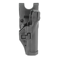 BlackHawk Level 3 SERPA Duty Holster - Matte - Beretta 92 (NOT ELITE/BRIG/92A1/96A1) - Right