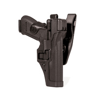 BlackHawk Level 3 SERPA Duty Holster - Plain - Beretta 92 (NOT ELITE/BRIG/92A1/96A1) - Right