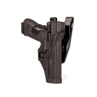 BlackHawk Level 3 SERPA Duty Holster - Matte - Smith & Wesson M&P 9 (w or w/o Thumb Safety) - Left
