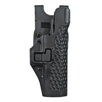BlackHawk Level 3 SERPA Duty Holster - Basket Weave - Smith & Wesson M&P 9 (w or w/o Thumb Safety) - Left