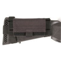 BlackHawk! Buttstock Shotgun Shell Pouch - Black