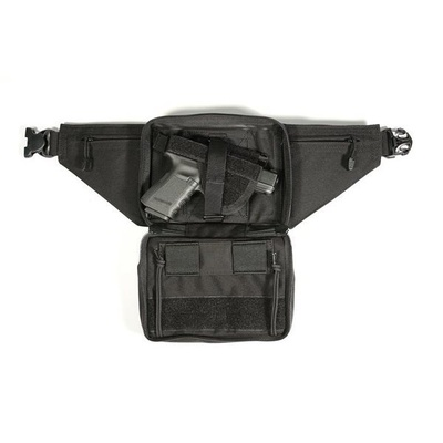 Blackhawk Urban Carry Fanny Pack Gun Holster - Medium for autos and revolvers up to 4in bbl