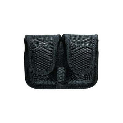 Bianchi Accumold Double Pouch For Speedloaders- Hidden Snap Closure