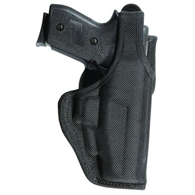 Bianchi Accumold Defender Duty Holster 13 - Glock 17, 22, 13 / S&W M&P .40- Black- Right Hand
