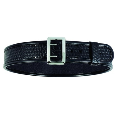 Bianchi Accumold Elite Duty Belt Basketweave- Brass- 44in-46in