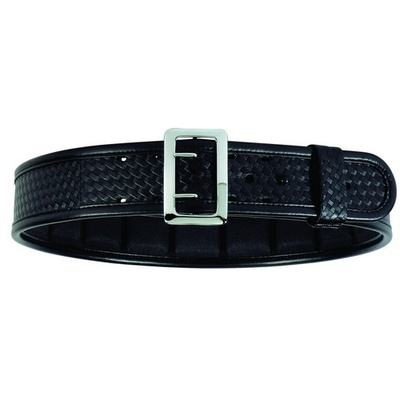 "Bianchi Ergotek Sam Browne Belt- Basketweave- Chrome- 40""-42"""