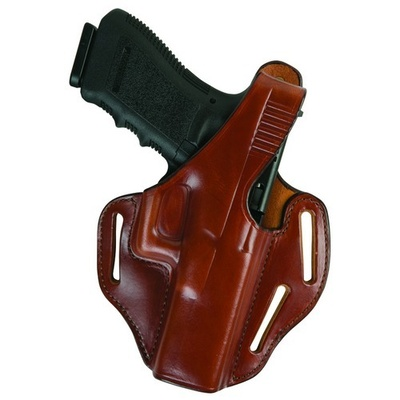 Bianchi Pirahana Concealment Holster 45 / S&W / M&P .45- Plain Black- Right Hand