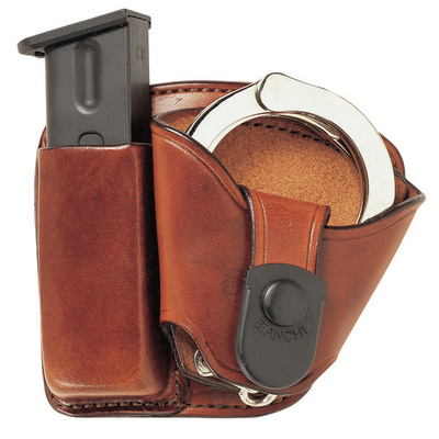 Bianchi Paddle Combo Mag Pouch W/Handcuff