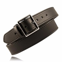 Boston Leather - Fully Lined Leather Garrison Belt 1 3/4