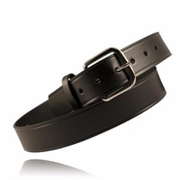 Boston Leather - OFF-DUTY BELT, 1 1/2