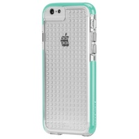 Case-Mate Tough Air Case suits iPhone 6/6S - Clear/Pool Blue