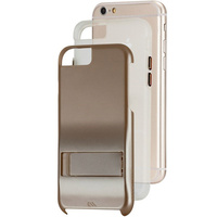 Case-Mate Tough Stand Case suits iPhone 6/6S - Gold/Clear