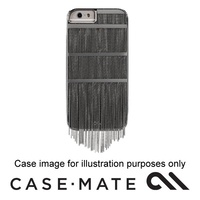 Case-mate Fringed Metal Case Suits Iphone 7 - Black