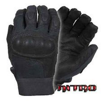 Damascus - Nitro Hard Knuckle Glove - Black - Large