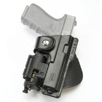 Fobus  Paddle Holder - Glock 19 (with laser or light) - Right
