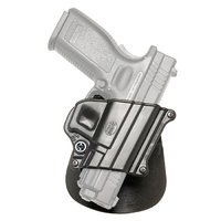 Fobus  Springfield XD, XDM, 9mm, 40, .45 Rotating Paddle Holder- Right Hand