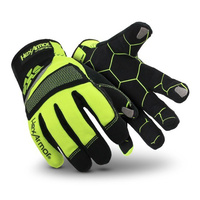 Hex Armor 4019 Hi-Vis Mechanics+ Gloves