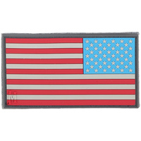 Maxpedition Reverse USA Flag Patch Large - Full Color