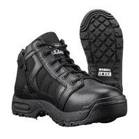 Original Swat 5 inches MTO Black Boots with Side Zip