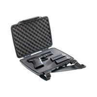 Pelican - P1075,PISTOL & ACCESSORY CASE,1075,BLACK