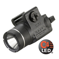 Streamlight A TLR-3 Weapons Mounted Light with Rail Locating Keys for a Variety of Weapons
