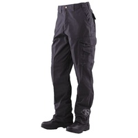 Tru-Spec Men's 24-7 Series Men's Tactical 65/35 Polyester/Cotton Rip-Stop Pants - Black - 38 x 32