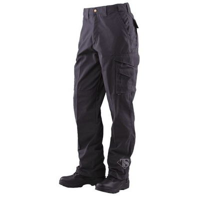 Tru-Spec Men's 24-7 Series Men's Tactical 65/35 Polyester/Cotton Rip-Stop Pants - Black - 38 x 30