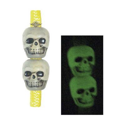 5Ive Star Gear - SKULL BEADS, ANTIQUE NITE GLOW