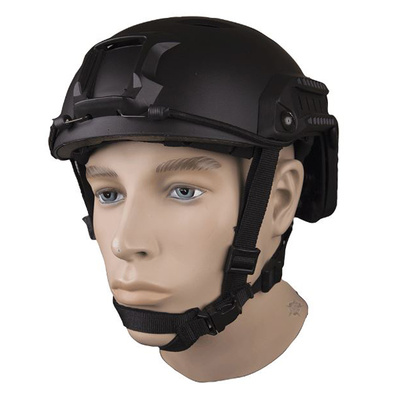 5Ive Star Gear Advanced Base Jump Helmet - Black