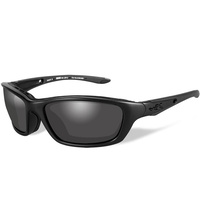 Wiley X Brick Glasses - Matte Black Frame / Smoke Grey Lens