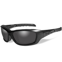 Wiley X Gravity Glasses - Black Ops / Smoke Grey / Matte Black Lens