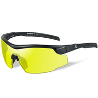 Wiley X RE 102  Adult - Yellow Lens - Black Frame