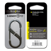Nite-Ize S-Biner Steel # 3 - Stainless
