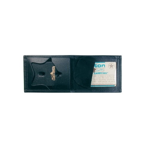 Boston Leather - BILLFOLD BADGE CASERECESSED FO