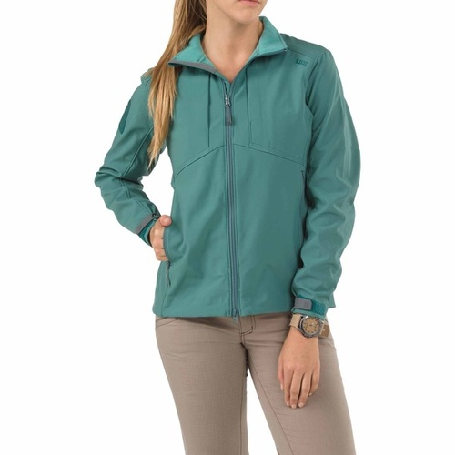 5.11 Tactical Women's Sierra Softshell - Agave - Small