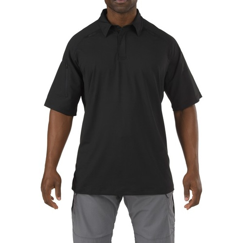 5.11 Tactical Rapid Performance Polo - Black - 2X Large