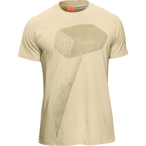 5.11 Tactical Recon Hammer T-Shirt - Bone - Extra Large